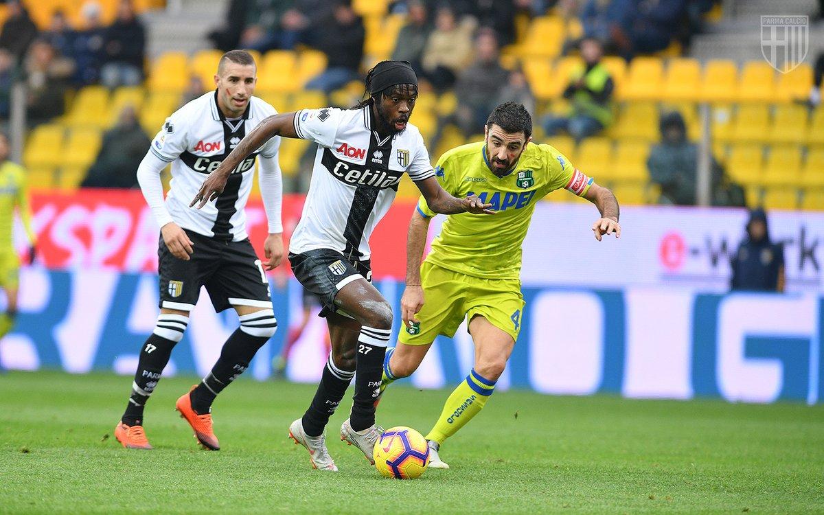 È del Parma il derby d'Emilia: finisce 2-1 con il Sassuolo