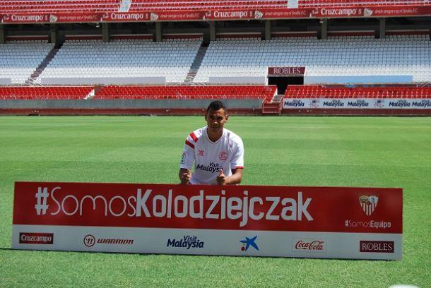 "Kolodziejczak: ""Puedo jugar de central o lateral zurdo"""