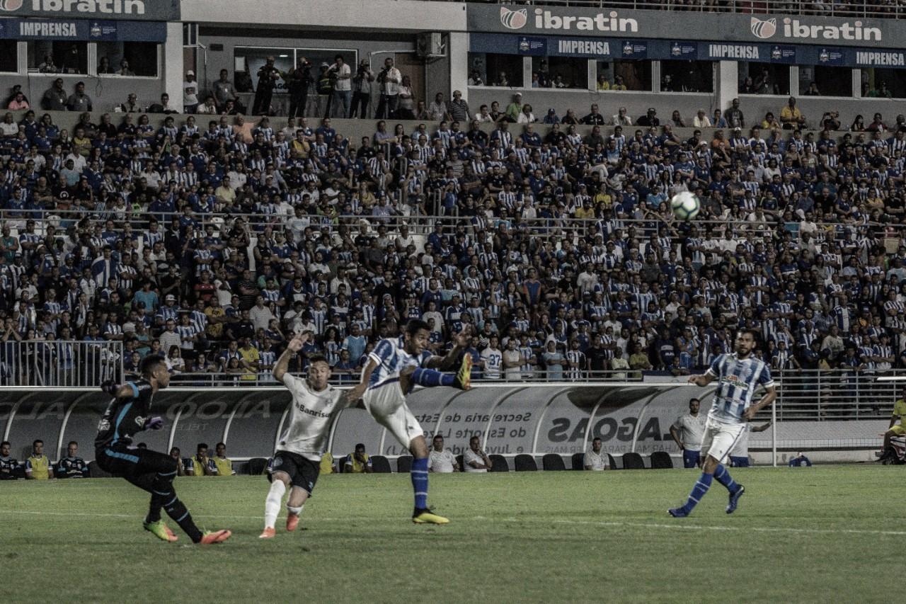 Gols e melhores momentos de Grêmio x CSA pelo Campeonato Brasileiro 2019 (2-1)