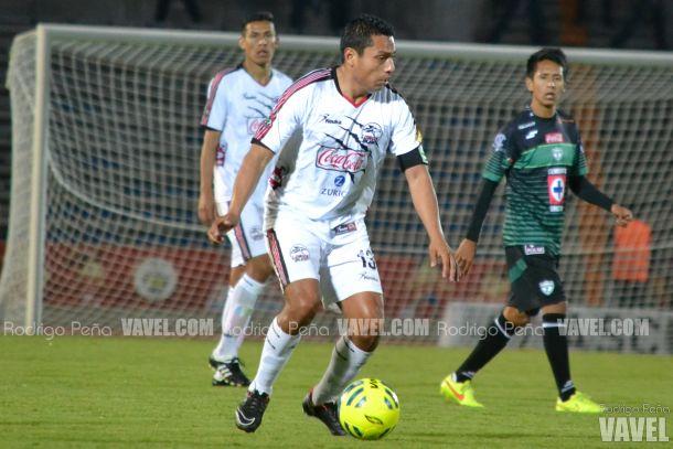 Omar Tejeda, enojado por no haber logrado la victoria ante Zacatepec