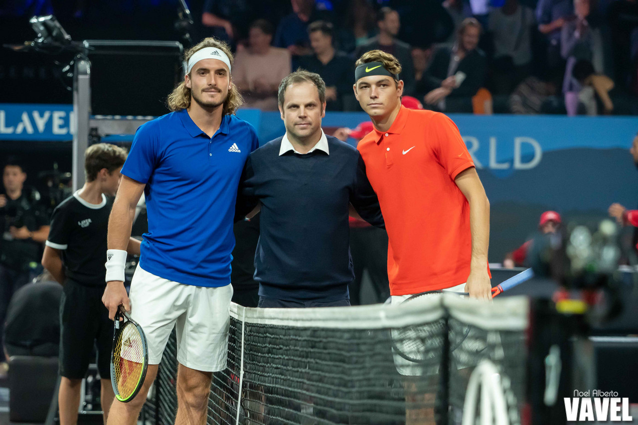 Laver Cup: Stefanos Tsitsipas vs Taylor Fritz photo gallery