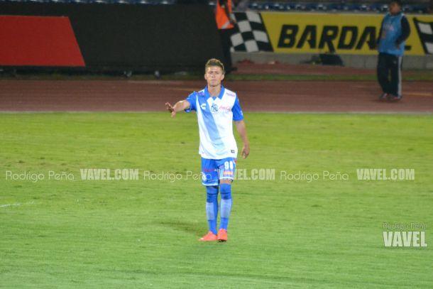 Diego Cruz debutó con el Puebla