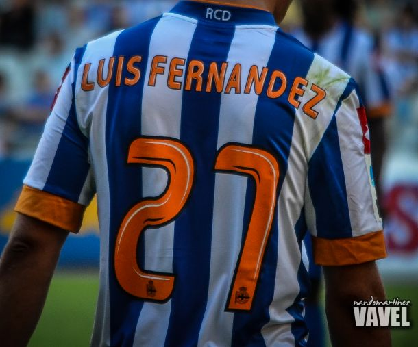 Dorsales del Deportivo para la temporada 2013-14