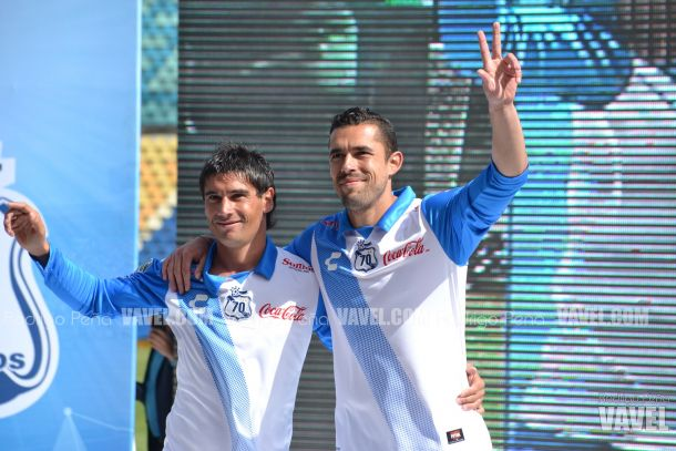 Fotos e imágenes de la presentación de los nuevos uniformes del Puebla para el Clausura 2015