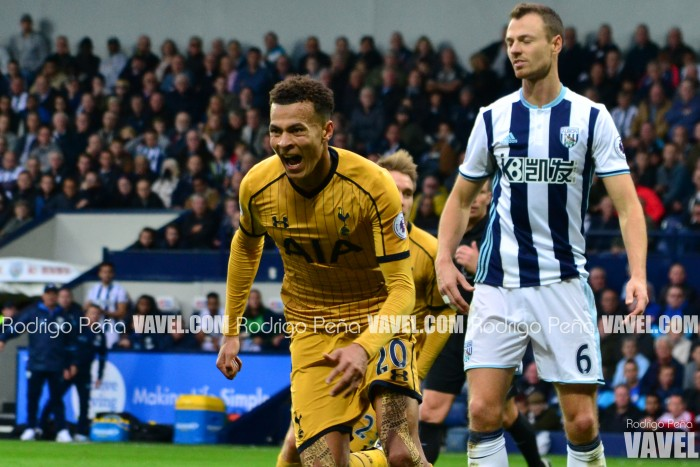 West Bromwich Albion 1-1 Tottenham Hotspur: Late Alli strike maintains Spurs' unbeaten start
