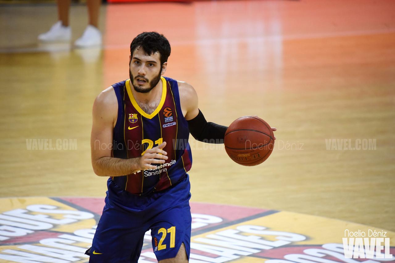 Abrines, durante un partido en Lliga Catalana 20-21 | Foto: Noelia Déniz - VAVEL