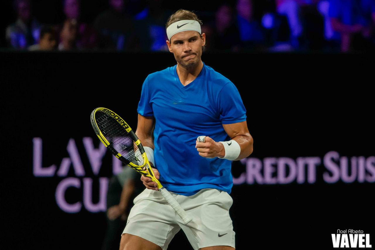 Laver Cup: Rafael Nadal vs Milos Raonic photo gallery