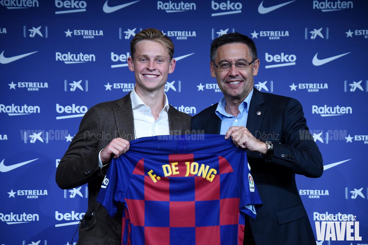 """De Jong: """"Jugar en el Barça siempre ha sido mi sueño"""""""