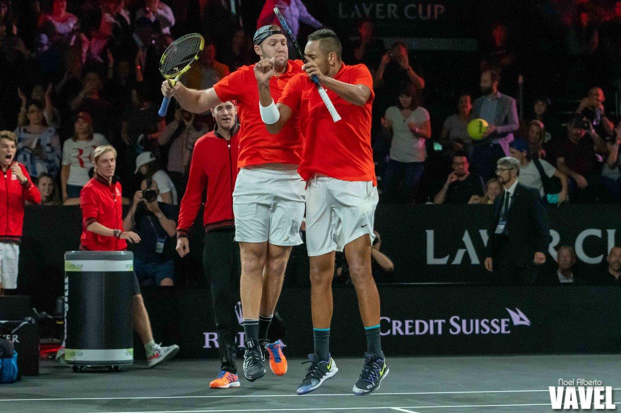 Laver Cup: Rafael Nadal/Stefanos Tsitsipas vs Nick Kyrgios/Jack Sock photo gallery