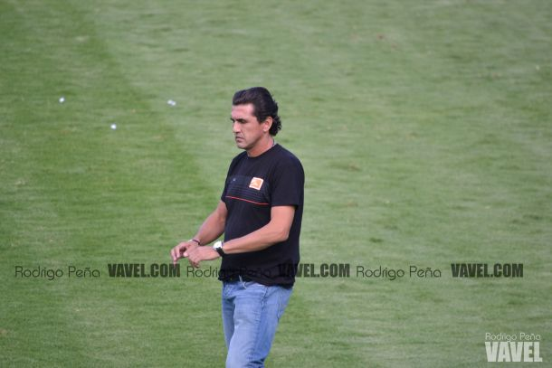 Omar Arellano contento por la victoria