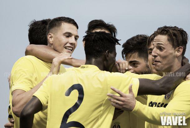 Fotos e imágenes del Villarreal B 5-1 Lleida Esportiu, jornada 7 del Grupo III de Segunda División B