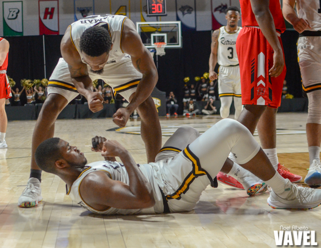 America East Conference Tournament semifinals: UMBC Retrievers 90-85 Hartford Hawks