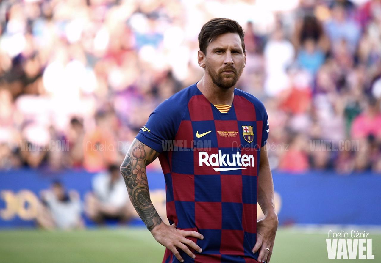 """Messi: """"A la cancha salgo menos mentalizado en el gol y más en el juego"""""""