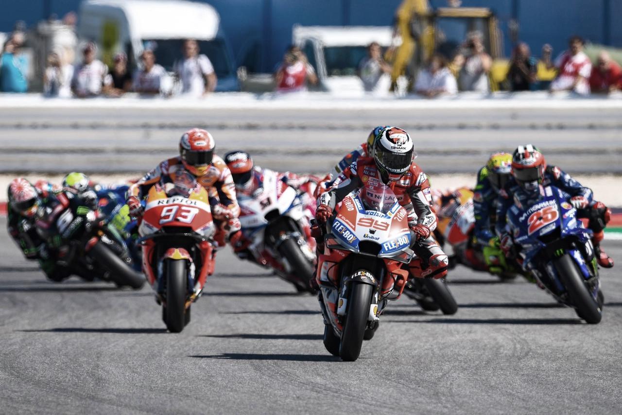Los neumáticos que Michelin llevará a San Marino