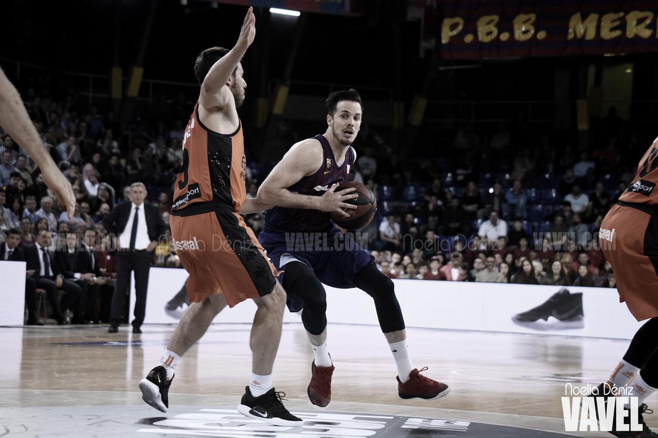 El Barça pierde el liderato tras caer ante el Valencia Basket