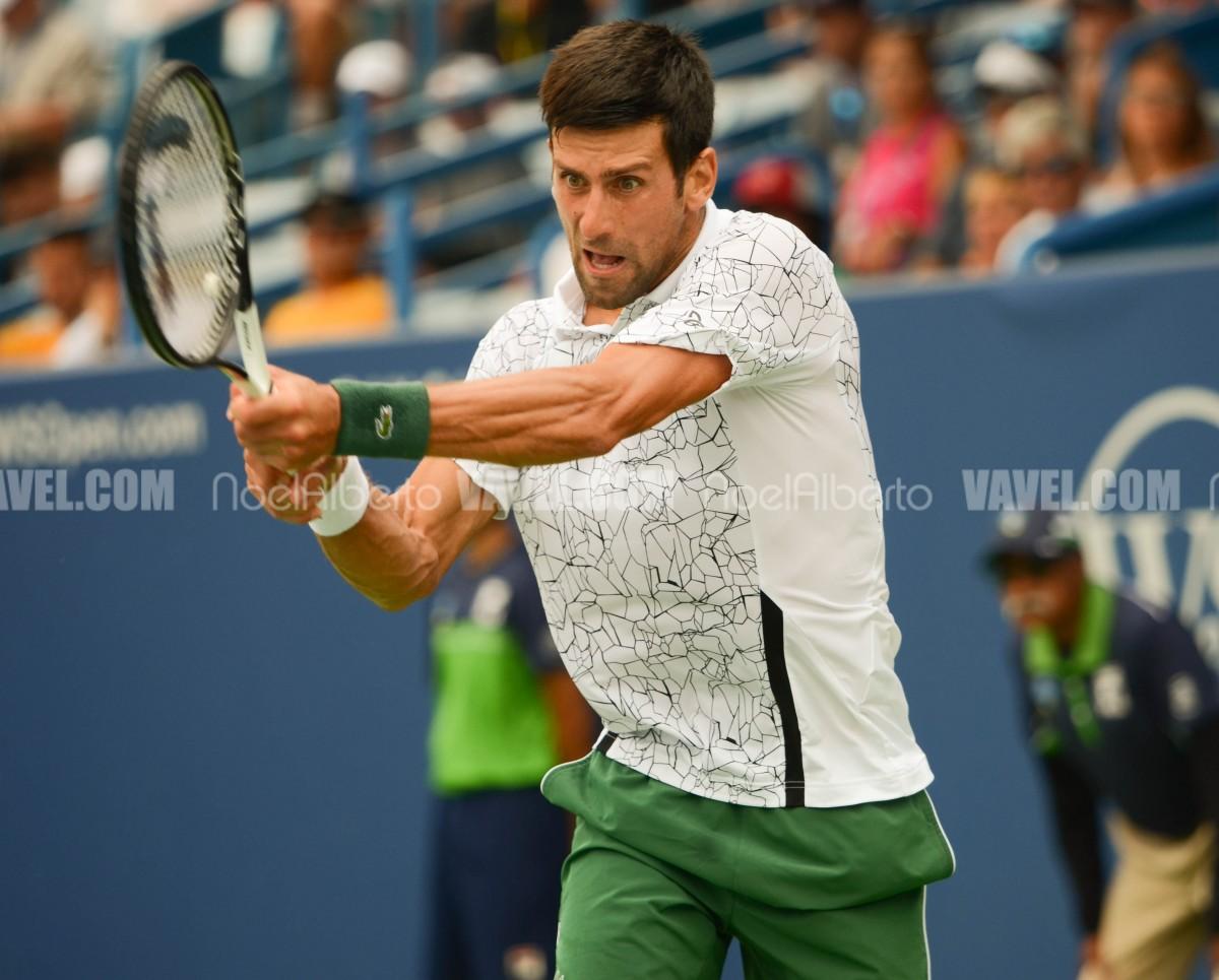 ATP Cincinnati: Novak Djokovic comes from behind to defeat Adrian Mannarino