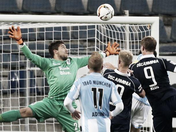 Arminia Bielefeld 1-1 1860 Munich: Klos continues scoring streak to earn a share of the spoils