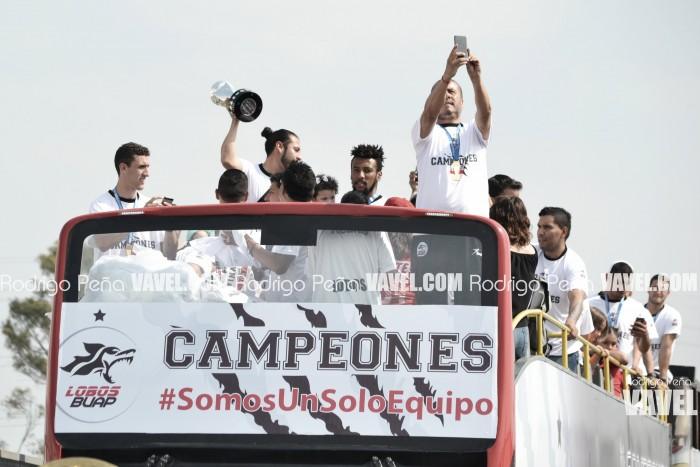 Lobos BUAP festejó el campeonato con su afición