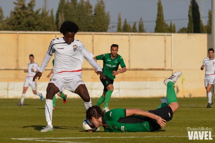 Fotos e imágenes del Albacete B 1-0 CD Toledo B, en la jornada 23 del G.XVIII, Tercera División