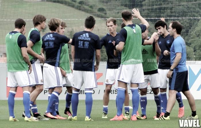 Convocatoria de la Real Sociedad B frente a la UD Logroñés