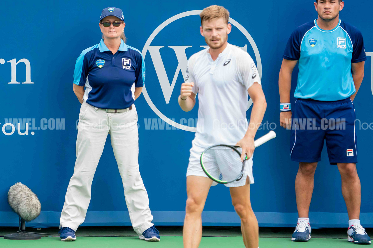 Western and Southern Open: Richard Gasquet vs David Goffin photo gallery