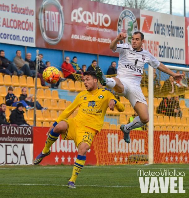 Fotos e imágenes del AD Alcorcón 1-0 Albacete Balompié, jornada 18
