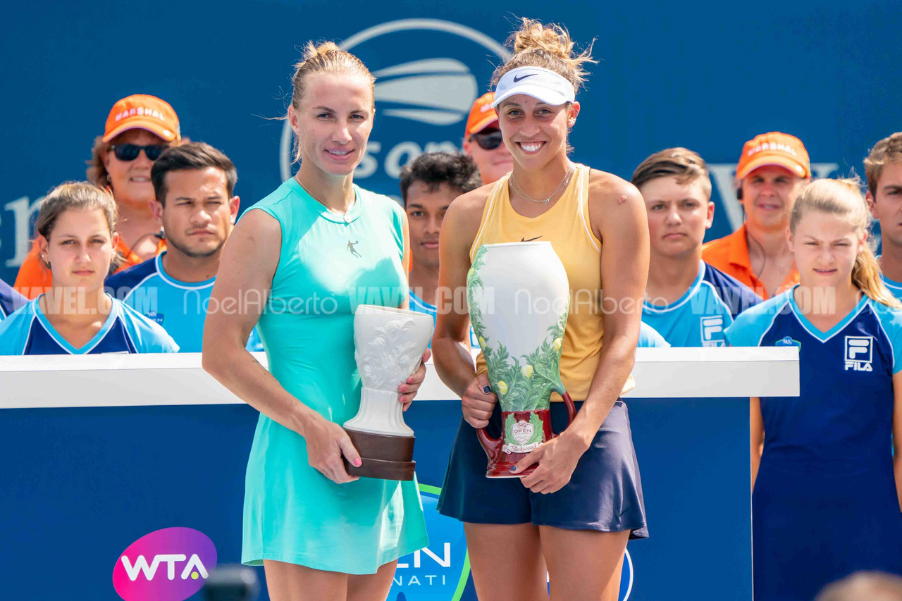 Western and Southern Open women's final: Madison Keys vs Svetlana Kuznetsova