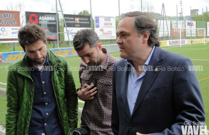 """Jokin Aperribay: """"Hay que trabajar la continuidad de Rulli en el club"""""""