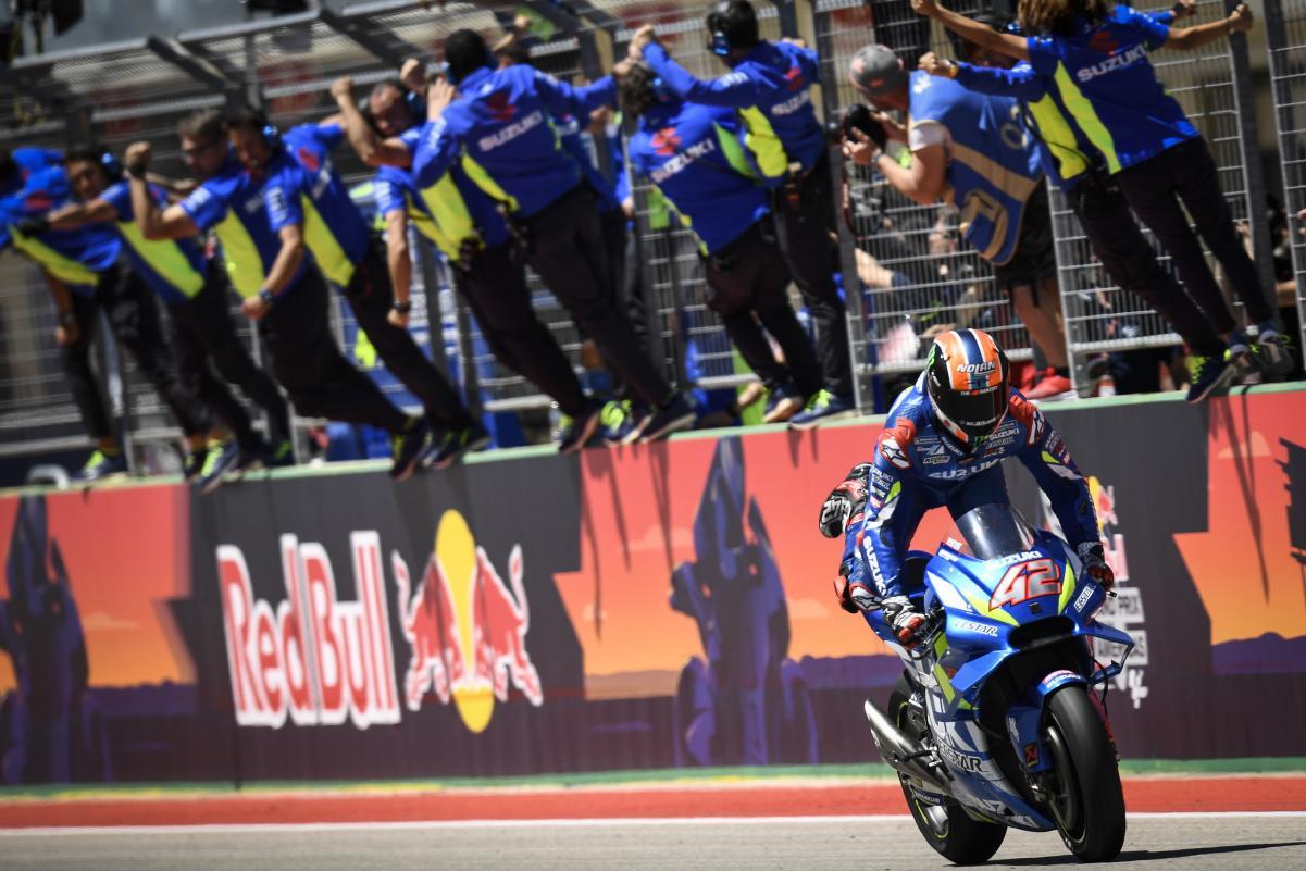 Ecuador de la temporada del Team Suzuki MotoGP