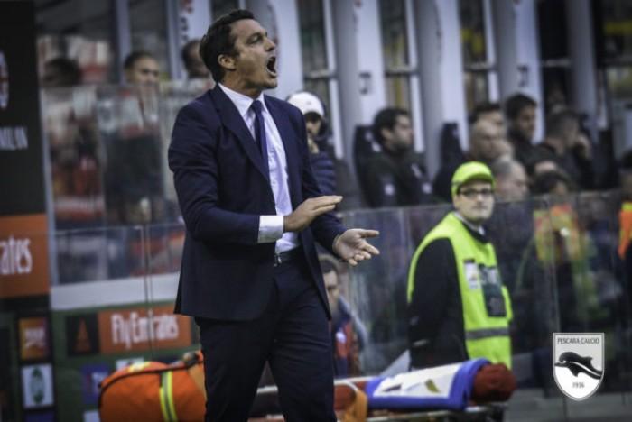 """Pescara, parla Oddo: """"Domani vale doppio, dubbio Aquilani-Bruno"""""""