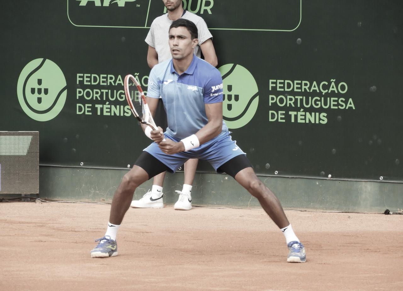 Arrasador, Monteiro supera Cação em 49 minutos e está nas quartas no Challenger de Braga