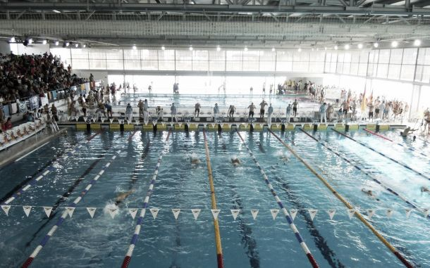 Todo listo para el campeonato de espa a de nataci n for Piscina municipal manresa
