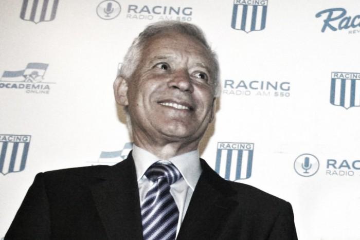 Blanco: ''Estoy disfrutando mucho ser el Presidente de Racing''