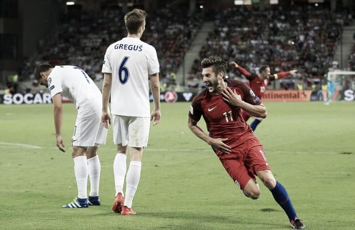 Qualificazioni Mondiali, gruppo F: Slovacchia-Inghilterra 0-1, decide una rete di Lallana al fotofinish