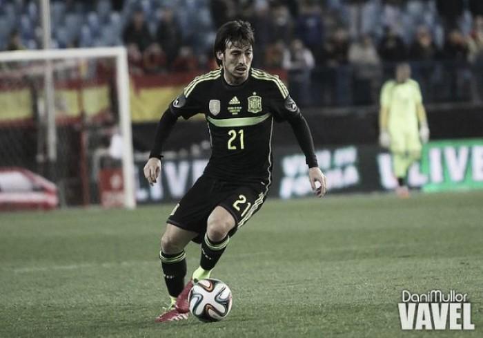 David Silva, un puesto entre los goleadores