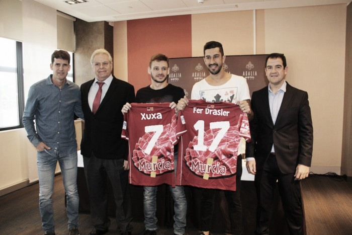 ElPozo presenta a Xuxa y Fernando Drasler