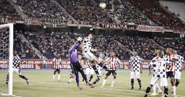 Resultado Chicó - Junior por la Liga Águila 2015 (0-2)