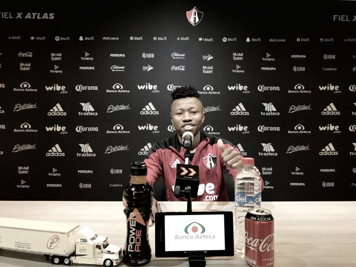 """Clifford Aboagye: """"El número 10 es muy especial para mí"""""""