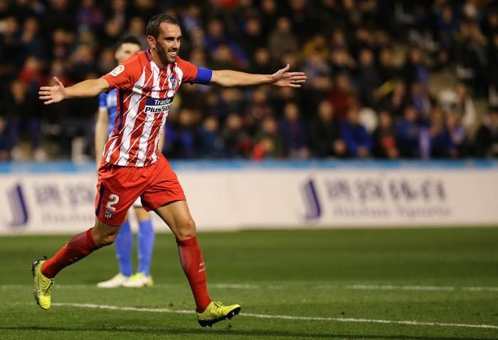 El Lleida no pudo con el Atlético de Simeone