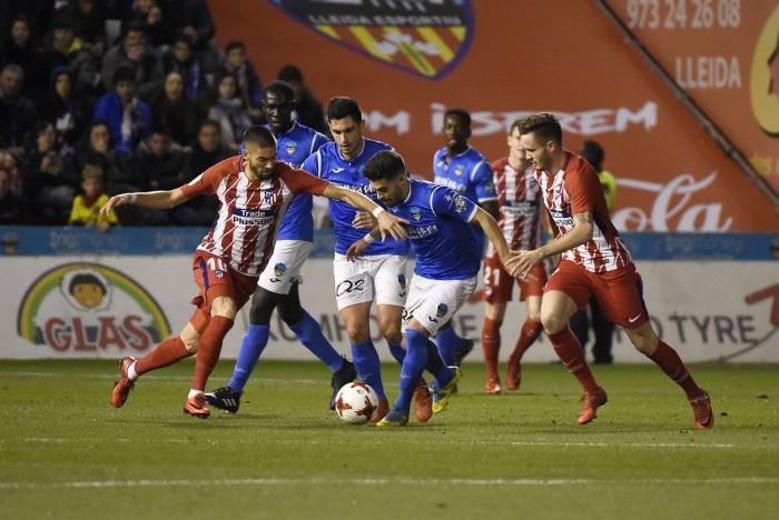Atlético de Madrid - Lleida Esportiu: probable despedida del sueño