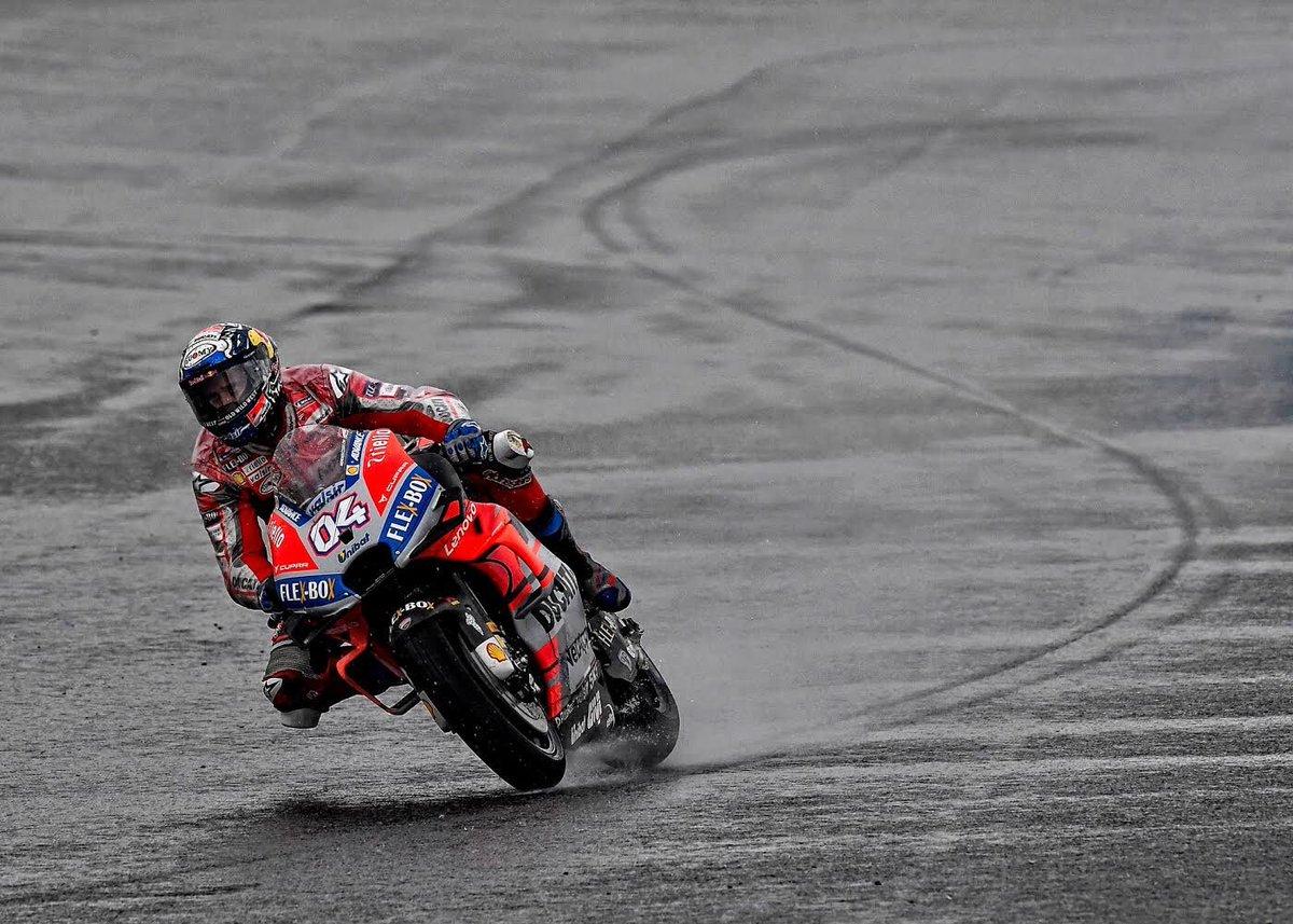 MotoGP - Test Valencia: Dovizioso in testa nella mattinata, sesto Rossi