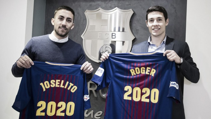 Joselito y Roger dos renovaciones más para el Barcelona