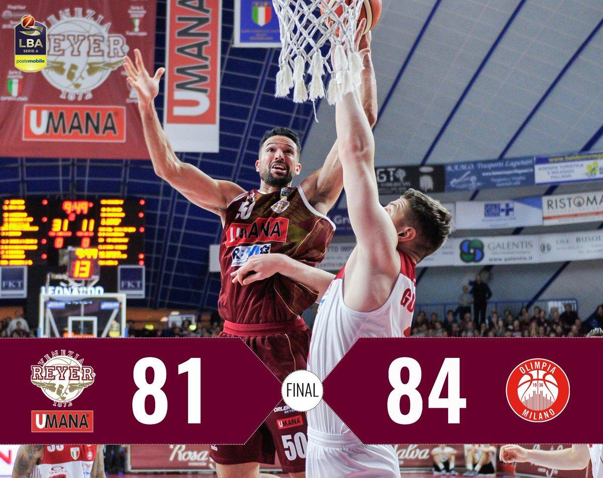 Legabasket - Milano spreca 21 punti di vantaggio, ma batte comunque Venezia (81-84)