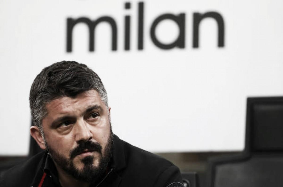 "Gattuso é sincero após empate do Milan: ""Perdemos grande chance de seguir na disputa para a UCL"""