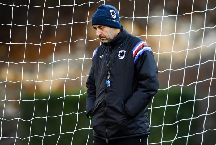 Sampdoria - Giampaolo: