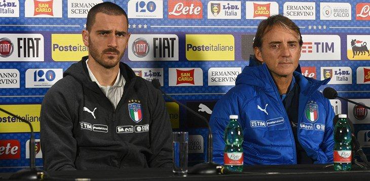 """Italia, Mancini in conferenza: """"Ci manca il gol, ma è anche questione di sfortuna"""""""