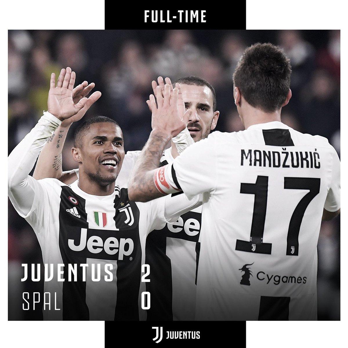 """La Juventus vince anche contro la Spal, Allegri: """"Meglio nel secondo tempo"""""""