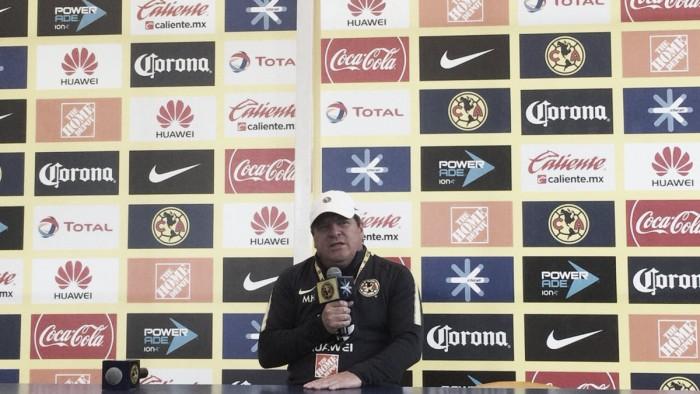 """Miguel Herrera: """"No buscamos copiar a nadie, otros copiaron al América"""""""