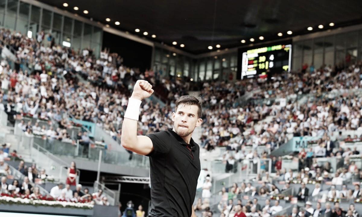 Atp Madrid, Nadal battuto da Thiem. Non sbaglia Zverev