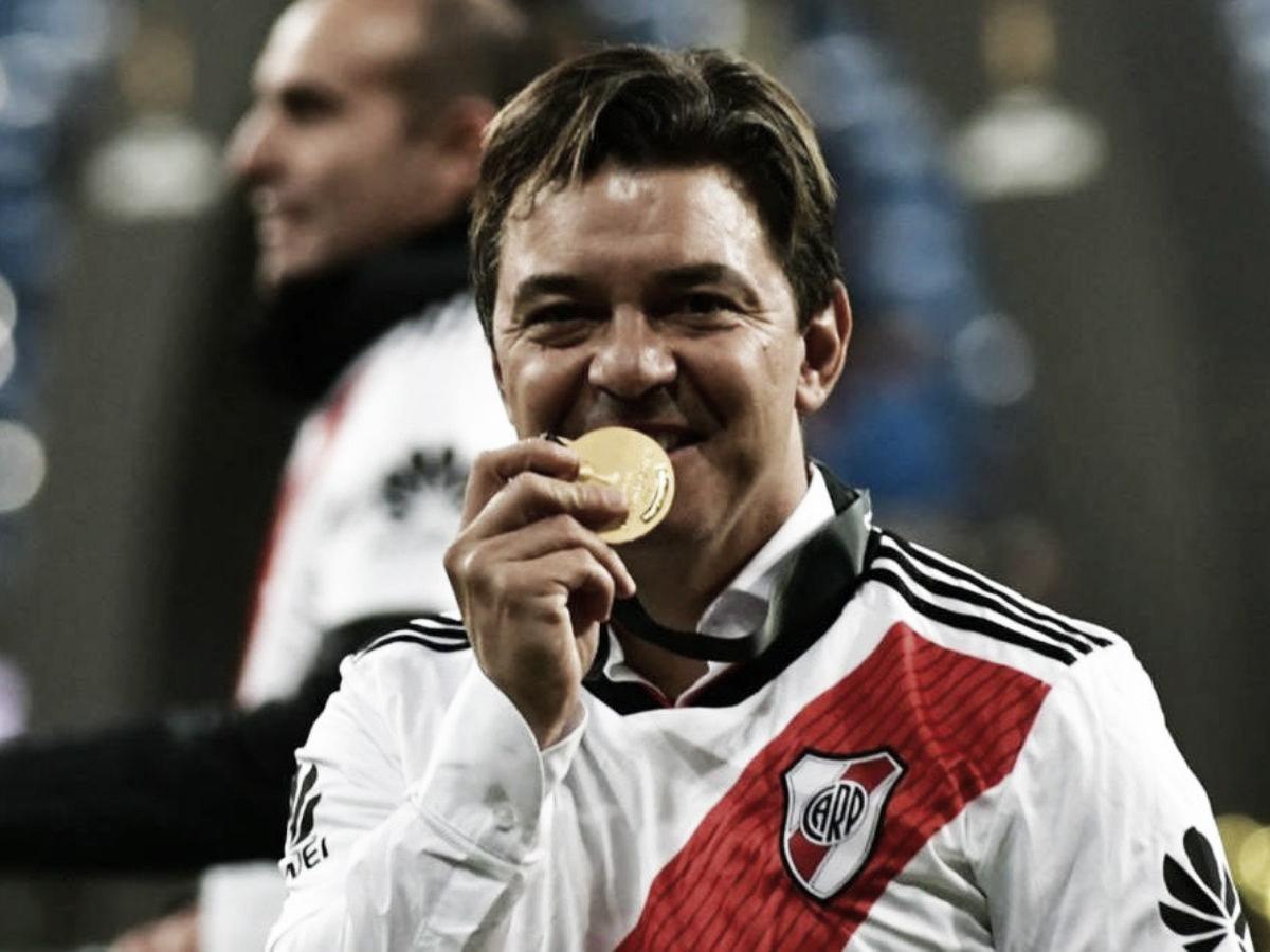 Gallardo, el mejor entrenador del planeta